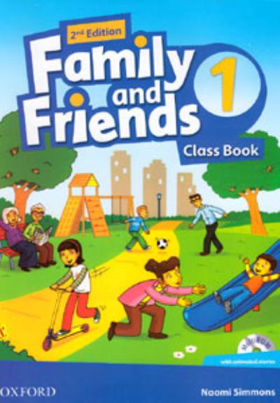 FAMILY AND FRIENDS 1 - 2ND EDITION - BRITISH ENGLISH