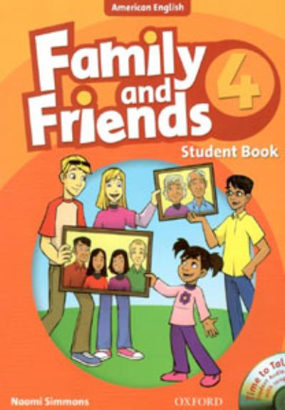 FAMILY AND FRIENDS 4 - AMERICAN ENGLISH